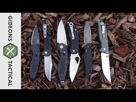 TOP 6 EDC Pocket Knives Under $50