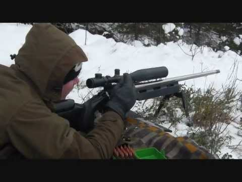 Long range steel shooting with 260 Rem, 6,5×55 and 308 Win
