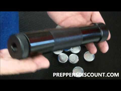 **UPDATED** 2015 Solvent Trap Maglite Flashlight Suppressor Silencer