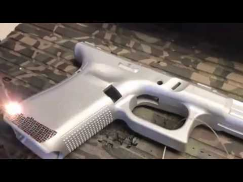 Laser stippling guns glock 19 gen 5 custom