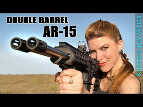 Double Barrel AR!! | FIRST EVER