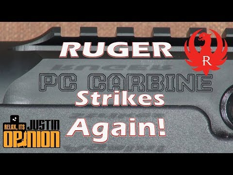 Ruger PC Carbine – 1st Hundred