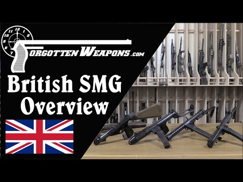British Submachine Gun Overview: Lanchester, Sten, Sterling, and More