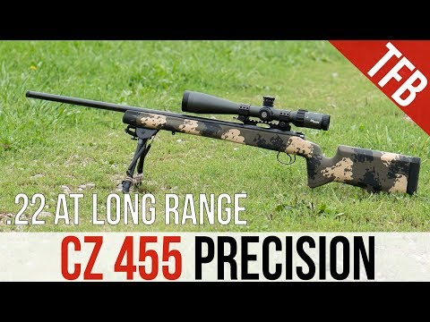 How Far Is .22LR Effective? (Featuring the CZ 455)