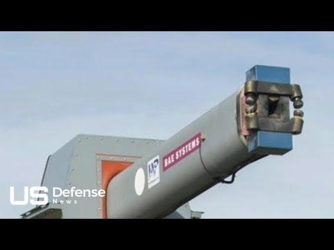 US NAVY 5600 mph RAILGUN – Navy's Gigantic Electromagnetic Railgun Is Ready for Deployment
