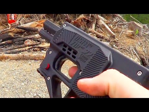 First Shots: USFA Zip Gun 22 LR Pistol. Worlds Worst Gun?