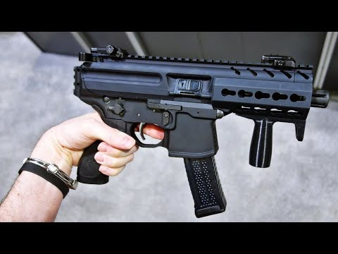 Top 10 Most Powerful Submachine Super Guns in the World | 2018