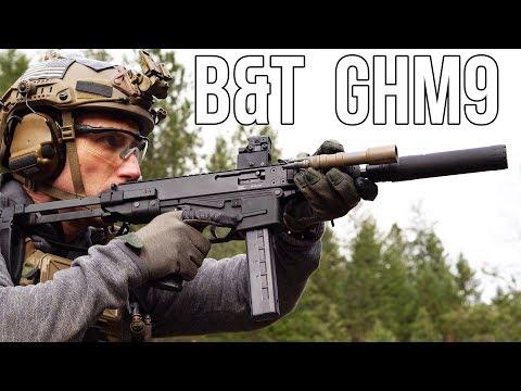 B&T GHM9 pistol caliber carbine (MP5 competitor?)