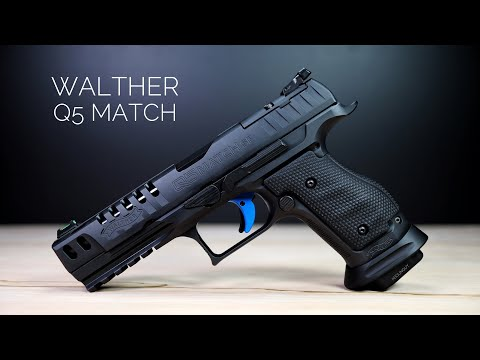 Walther Q5 Match Steel Frame – The Best Competition Option?