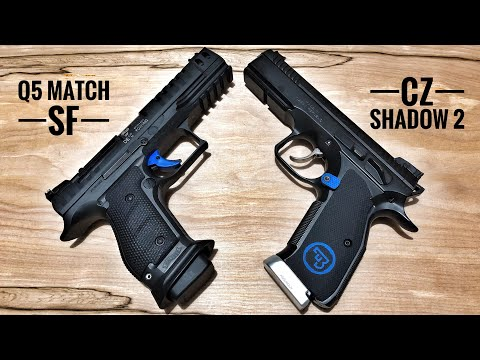 CZ Shadow 2 vs Walther Q5 Match Steel Frame – If I Could Only Have One..