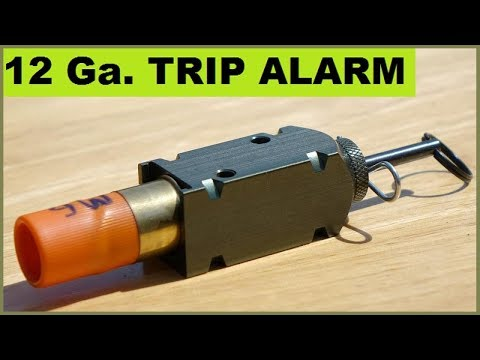 12ga. Camping Trip Alarms – Unusual shell loads!
