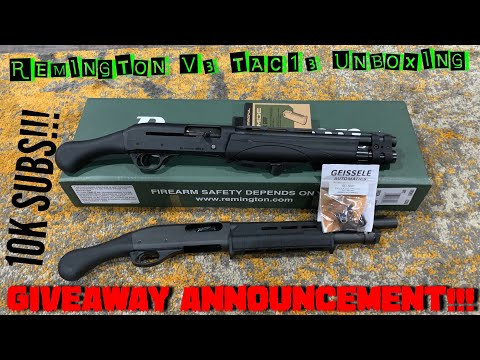 Remington V3 Tac13 Unboxing/review