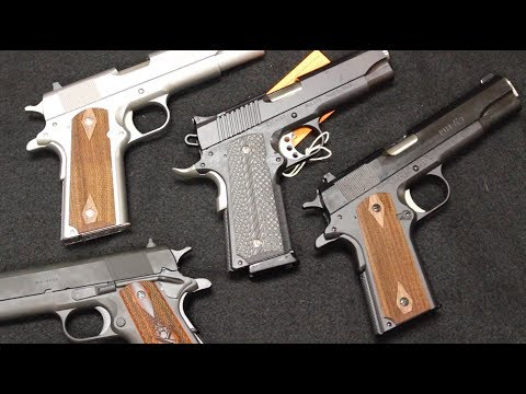 Our Top 5 Best Selling 1911s