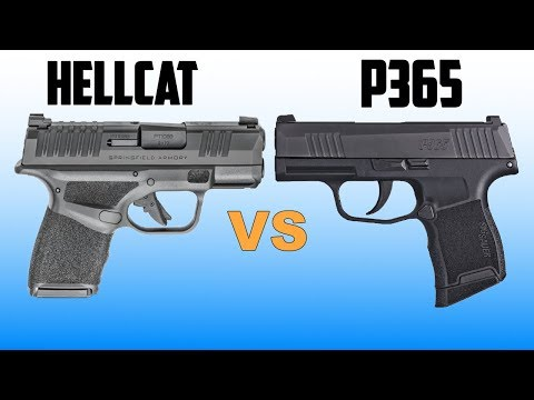 Sig P365 & Springfield Hellcat Comparison