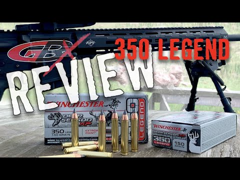 350 Legend Review for Deer Hunting