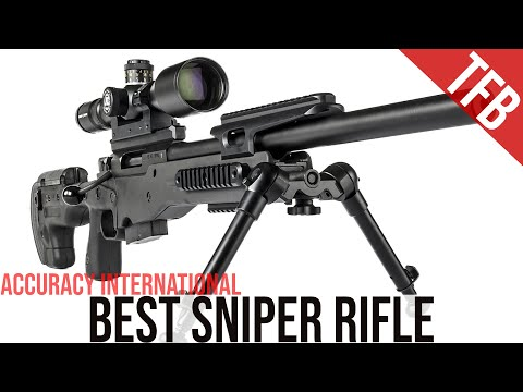Best Sniper Rifle Ever Made? Accuracy International AT Review