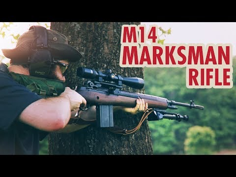 Springfield M1A GI Standard / M14 Scoped Marksman Rifle (Part 3)