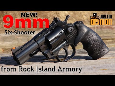 Rock Island's New AL9.0 9mm Revolver