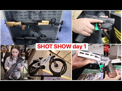 SHOT show 2020 day 1 (the entire day in one video)