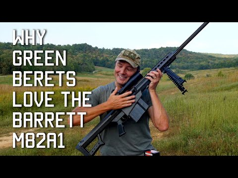 Why Green Berets Love the Barrett M82A1
