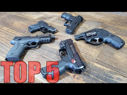 TOP 5 22LR HANDGUNS FOR SELF DEFENSE