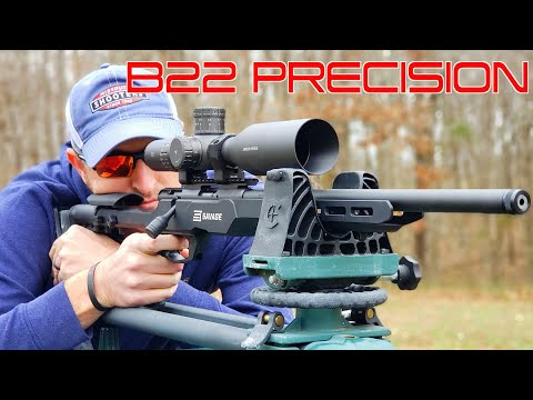 THE NEW SAVAGE B22 PRECISION