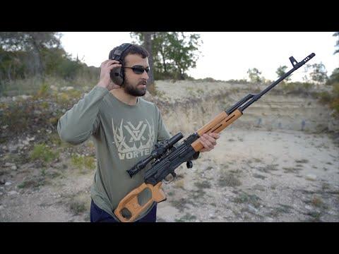 Plinking Around With The Century Arms Romanian PSL 54