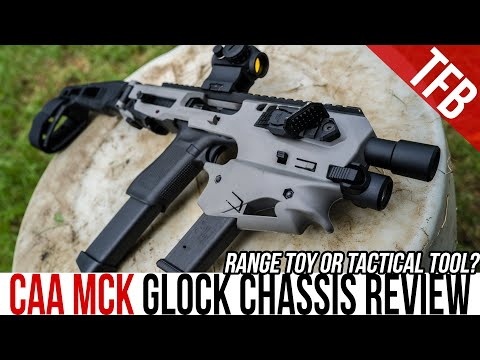 Honest Review of the CAA MCK Glock Chassis: Range Toy or Tactical Tool?