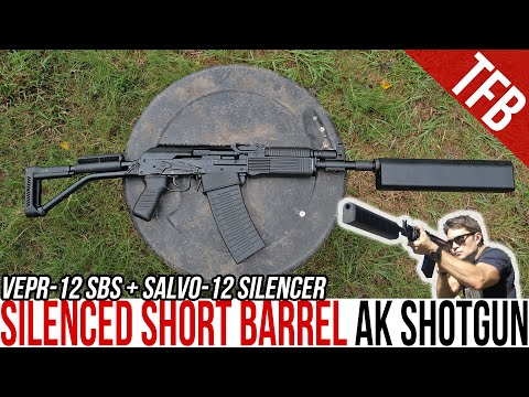 Is a Silenced Short Barrel AK Shotgun Reliable? The Molot VEPR-12 and SiCo Salvo-12 Review