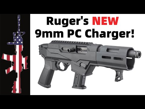 Ruger's NEW PC Charger 9mm – FIRST LOOK