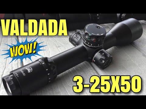 Valdada TX Raider 3-25X50