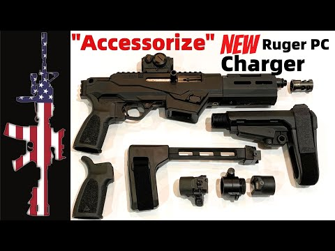 Ruger's NEW PC Charger 9mm – Part 2 (Accessorizes)