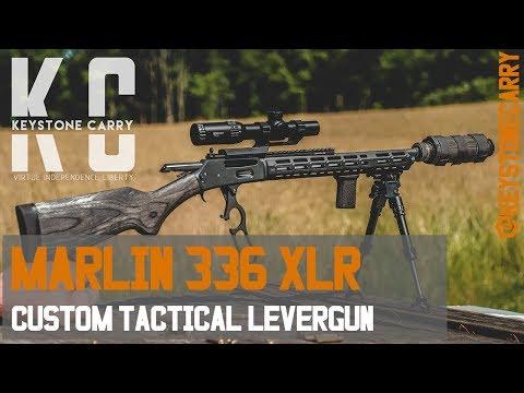 Marlin 336 XLR | Custom Tactical Levergun