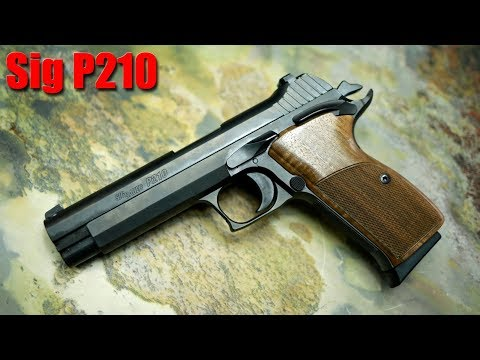 Sig Sauer P210 First Shots & Impressions
