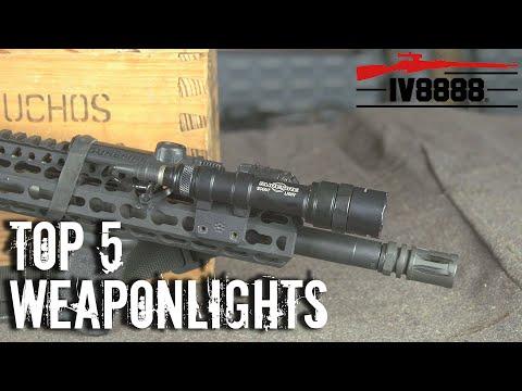 Top 5 Weaponlights