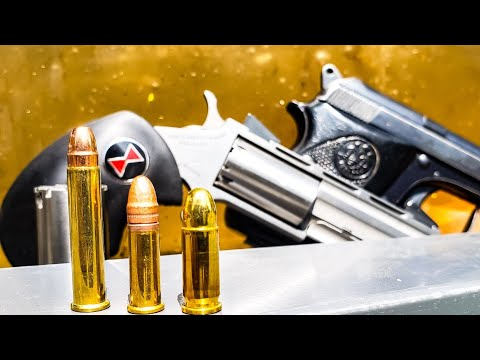 22mag vs 22lr vs 25acp – Mouse Guns for Self Defense – Ballistics Gel