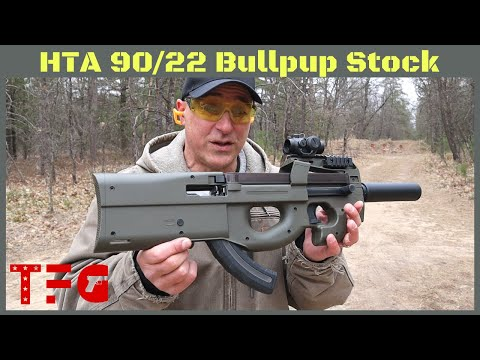 High Tower Armory (HTA) 90/22 Bullpup Kit for a Ruger 10/22 – TheFirearmGuy