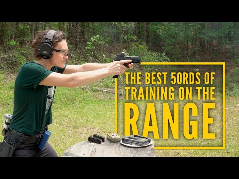 Best use of a QUICK 50RDS of TRAINING !