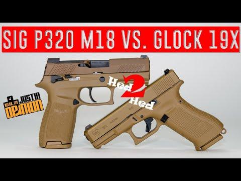 Glock 19X vs. SIG M18