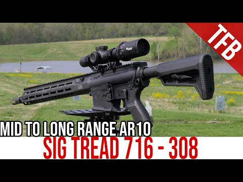 NEW Sig Tread 716i Review: A Long-Range AR-10