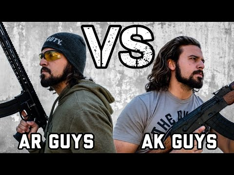 AR Guys VS AK Guys – APOCALYPSE EDITION