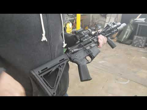 3D printed swift link auto sear (type 2) live fire test