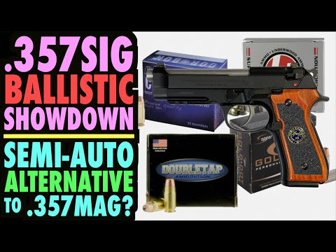 .357SIG Ballistic Showdown! (Semi-Auto Alternative to .357mag?)