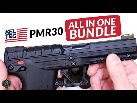 KEL-TEC PMR-30 All In One Bundle – Custom KEL TEC PMR 30 Upgrades & PMR 30 Accessories by M*CARBO!