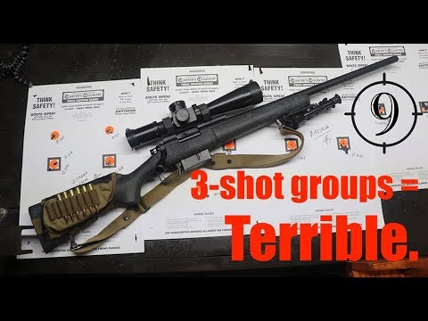 Why 3-round groups are the worst… feat. Remington 700 5R