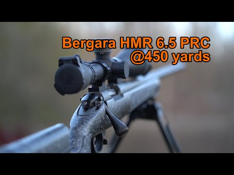 Bergara 6.5 PRC Vs 450 Yard Chucks