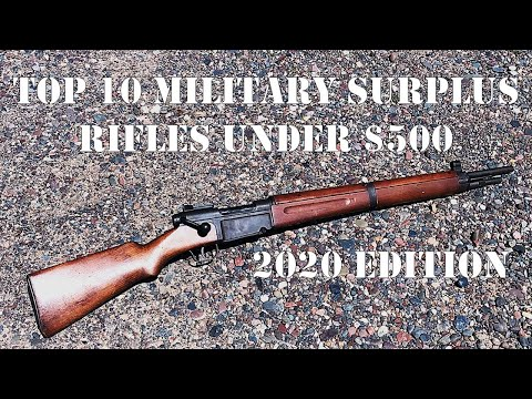 Top 10 Military Surplus Rifles Under $500 in 2020