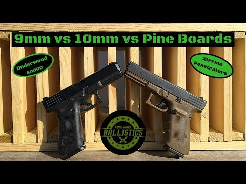 9mm vs 10mm vs Pine Boards