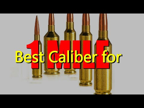 Best Caliber for 1 Mile