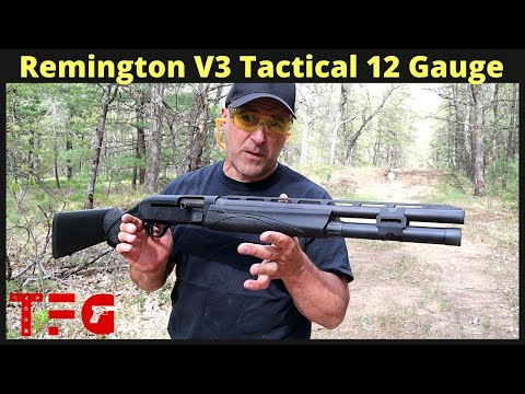 Remington V3 Tactical 12 Gauge Shotgun – TheFirearmGuy